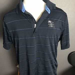 Lacoste sport polo navy striped golf 6